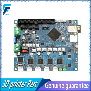 Image 2 - Placa base electrónica avanzada DuetWifi Duet 2, Wifi V1.04, 32bit, Paneldue, conexión, máquinas CNC, BLV, MGN Cube
