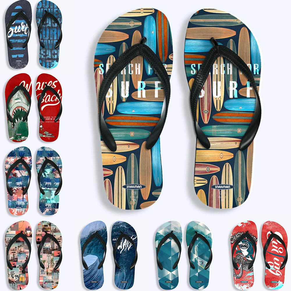 Marca surf Flip Flops surf viaje de natación regalo de Zapatos de deporte de playa EVA zapatilla