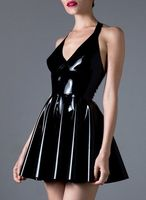 Summer Dress Latex Dress Women Latex Dress