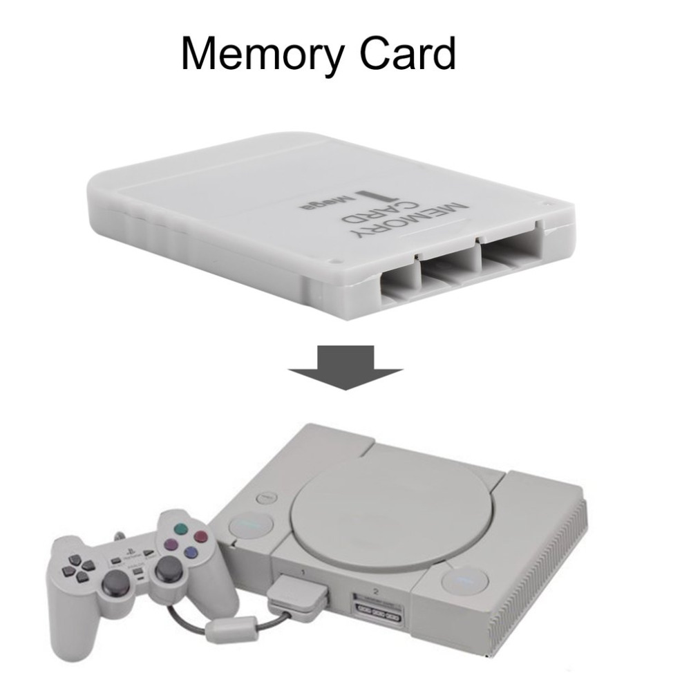 PS1 Game Memory Card 1 Mega Memory Card 1MB Game Card For Playstation 1 One PS1 PSX PS1 Host Dedicated Memory Card