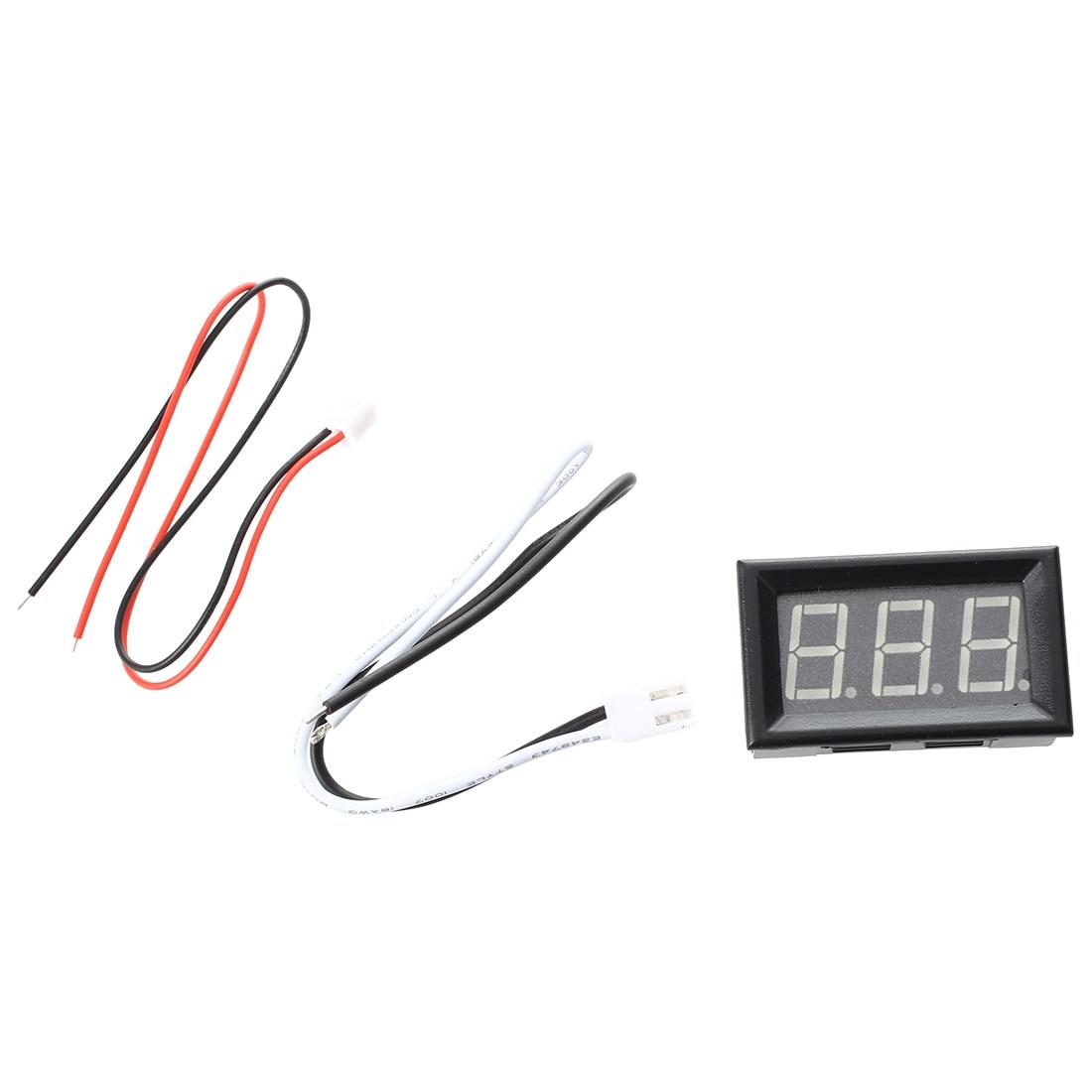 Digital <font><b>LED</b></font> Ampere Meter <font><b>AMP</b></font> Panel Meter Ammeter DC 0 &#8211; 10A Gelb Neu