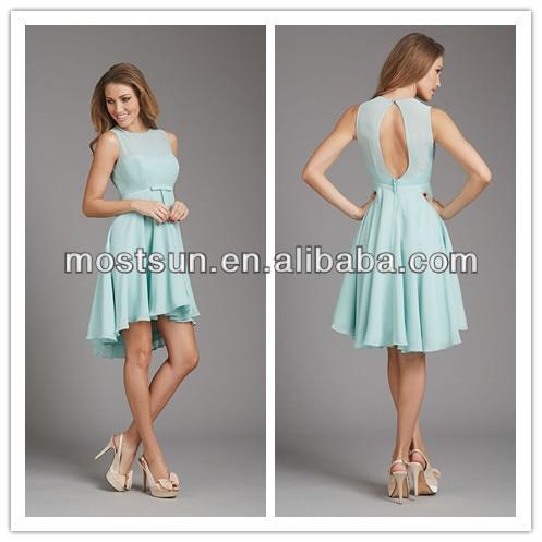 High Low Bridesmaid Dress