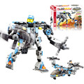 J508 Aircraft Robot Building Kits 245pcs/set Construction Bricks Sets Enlighten Child Educational Toy