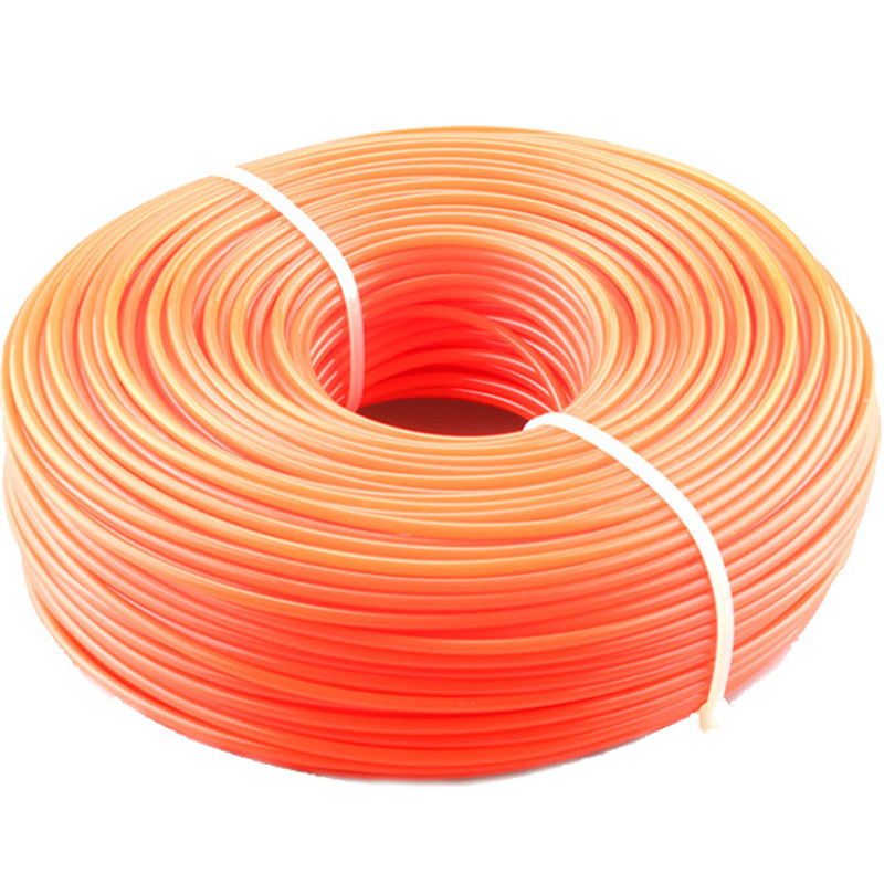 2.4mm/3mm 450g Trimmer Line Strimmer Brushcutter Trimmer Nylon/Wire Rope Cord Line Long Round Roll Square Grass Rope Line