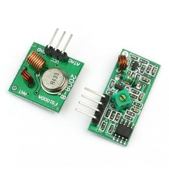433M TX+RX Super-regenerative Module Wireless Transmitting Module Alarm Transmitter + Receiver Тахеометр
