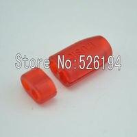 Free shipping 10 pair 4mm Larger Size Red Y Splitter Adapter Set Kit For DIY HiFi Earphone Headphone