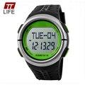 DigitalWatch TTLIFE 1058 Pedômetro Heart Rate Monitor de Calorias Contador de Fitness Para Mulheres Dos Homens relógios de Pulso Relógios Desportivos Ao Ar Livre