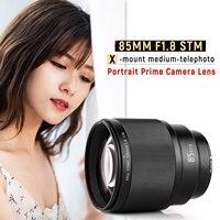VILTROX PFU RBMH 85mm F1.8 SMT Auto Focus Standard Prime Lens Portrait Lens Full Frame for Fuji X mount Camera X T3 X T2 X T20