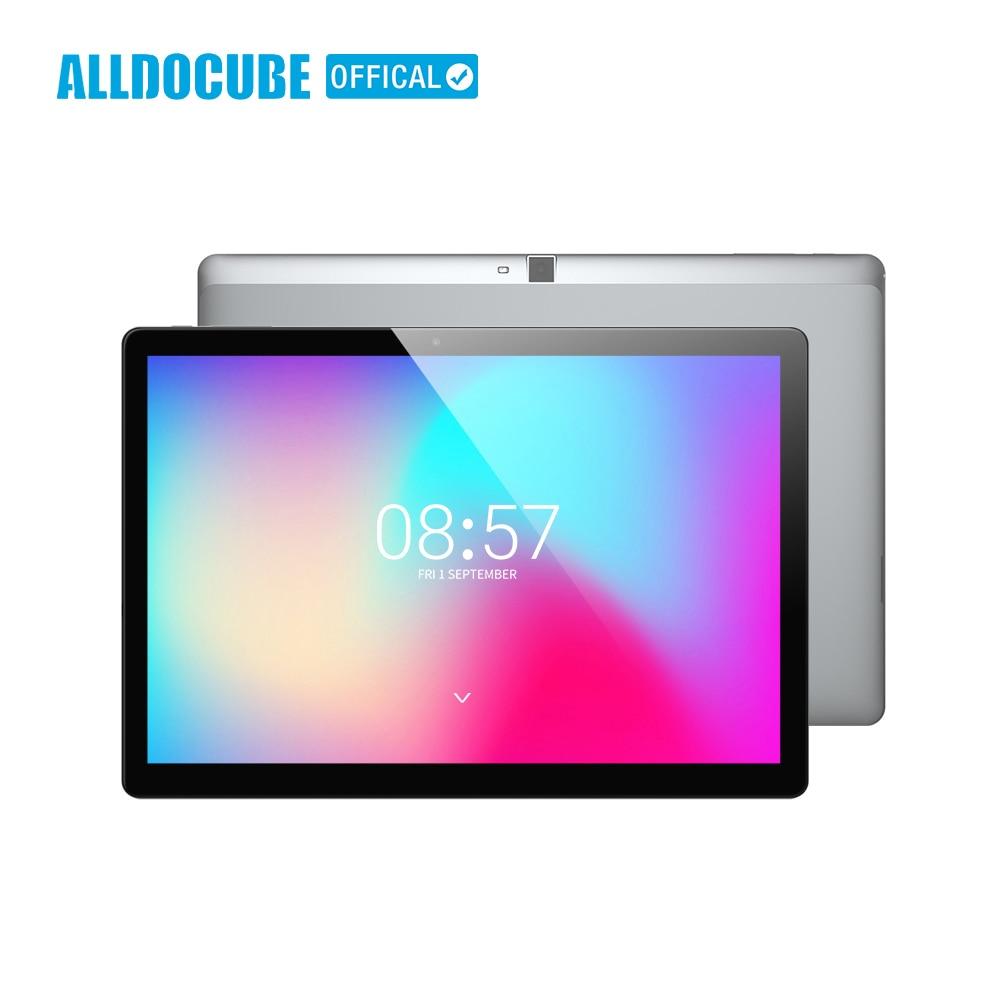 ALLDOCUBE de M3 10,1 pulgadas 4G llamada de teléfono tabletas PC 1920*1200 IPS 2 GB RAM 32 GB ROM Android 7,0 MT6753 Octa Core 8000 mAh GPS