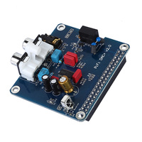 PIFI DAC + HIFI DAC Audio Soundkarte Modul i2s-schnittstelle für Raspberry pi3 2 ModelB + Digital Audio Karte Pinnwand V2.0 Bord SC08