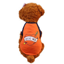 Summer Pet Puppy Small Dog Cat Pet Vest Shirt Rope Dog Chest Strap Leash dog vest harness honden zwemvest dog tshirt x3068(China)