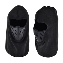 Dropshipping Black Windproof Motorcycle Full Face Mask Winter Anti Dust Face Shield Guard Outdoor Balaclava Masque Mascarilla