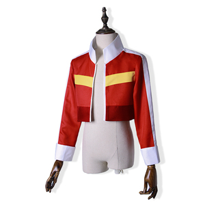 Image 2 - Voltron:Legendary Defender Keith Red Jacket for women men Halloween cosplay costume Top Coat Outfit
