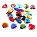 Бусины из бисера, китайские бусины 10/14 мм из фиолетового стекла, чешское хрустальное сердце, бусины россыпью, «сделай сам», лэмпворк, кристал...