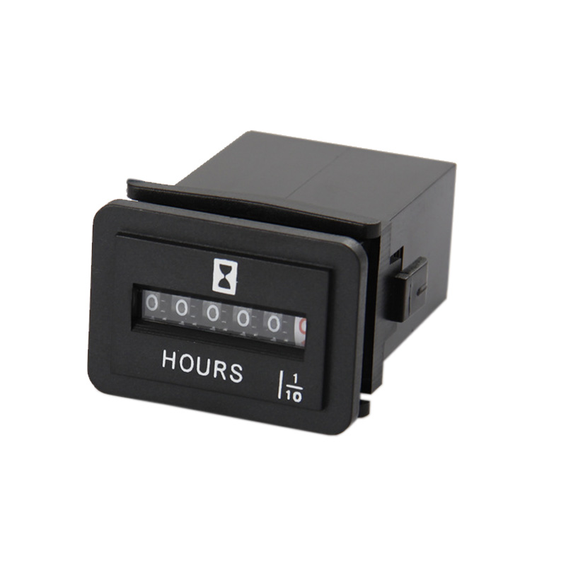 Mechanical Hour Meter Unique Design Timer Counter for motorcycle,snowmobiles,ATV,tractors,boats,pump,forklift trucks,jet ski DC