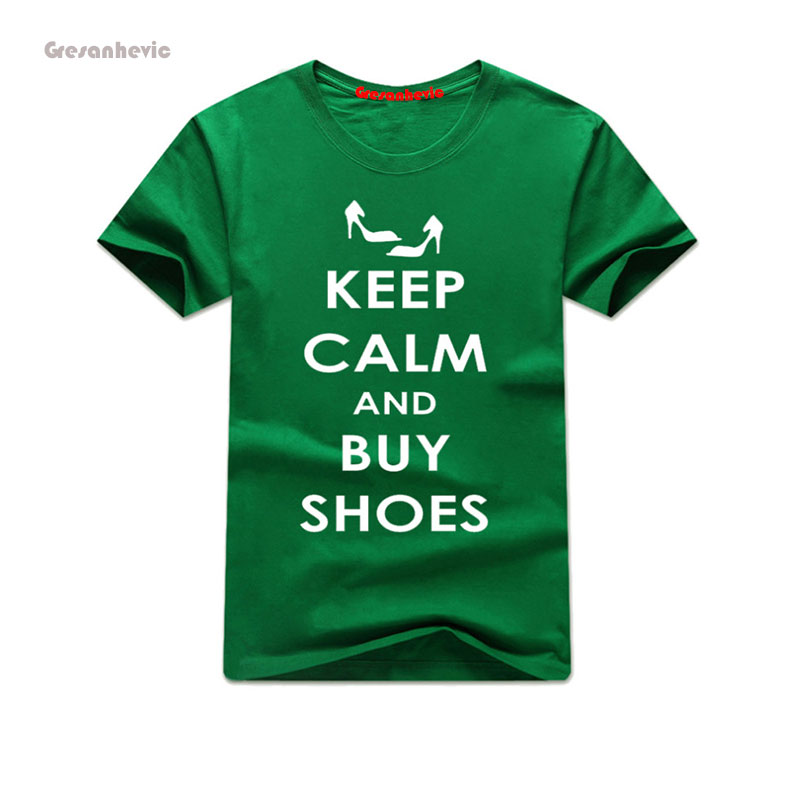 Mantener la calma keep compras nuevo hombre Moda hombre Camiseta algodón o  Masajeadores de cuello mens manga corta Hombre Tops Camisetas Tees al por  mayor 6bdf7ef0566