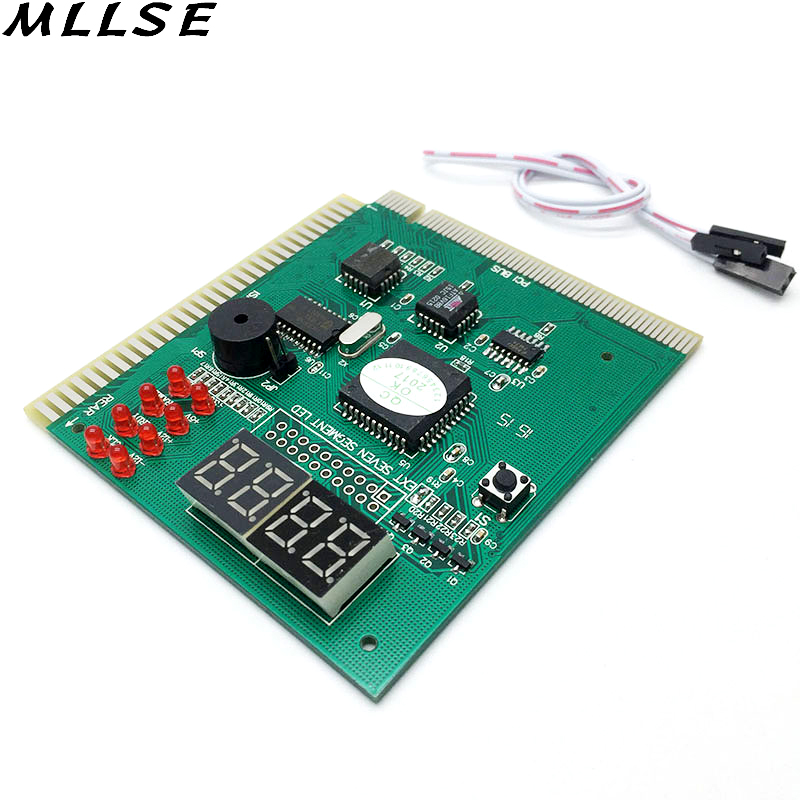 MLLSE Computer Analysis PCI POST Card LCD Display Motherboard LED 4 Digit Diagnostic Test PC Analyzer Module недорого