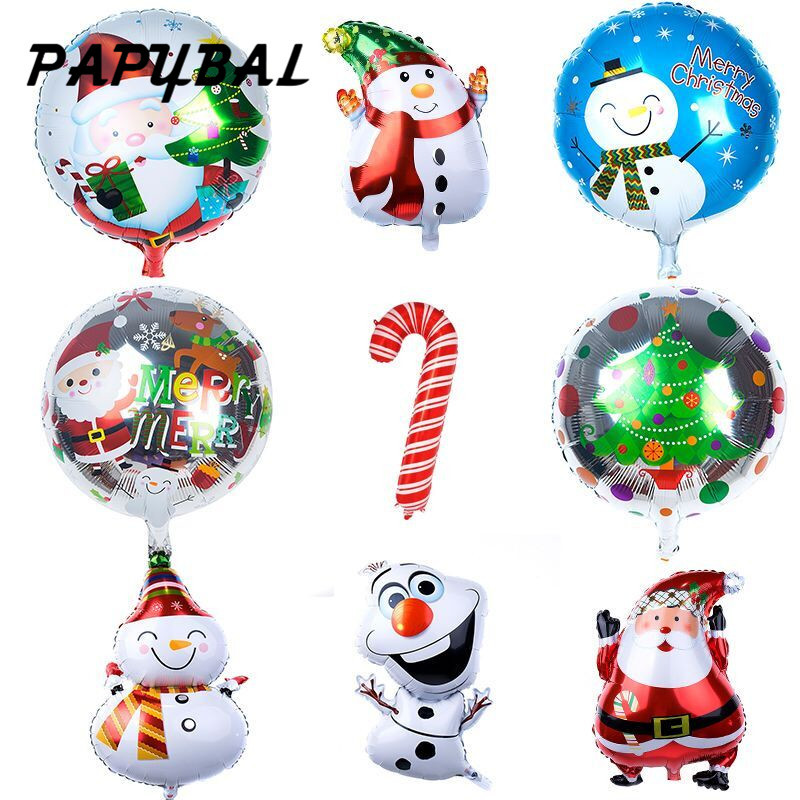Christmas Balloon Santa Claus Snowman Foil Air Balloons