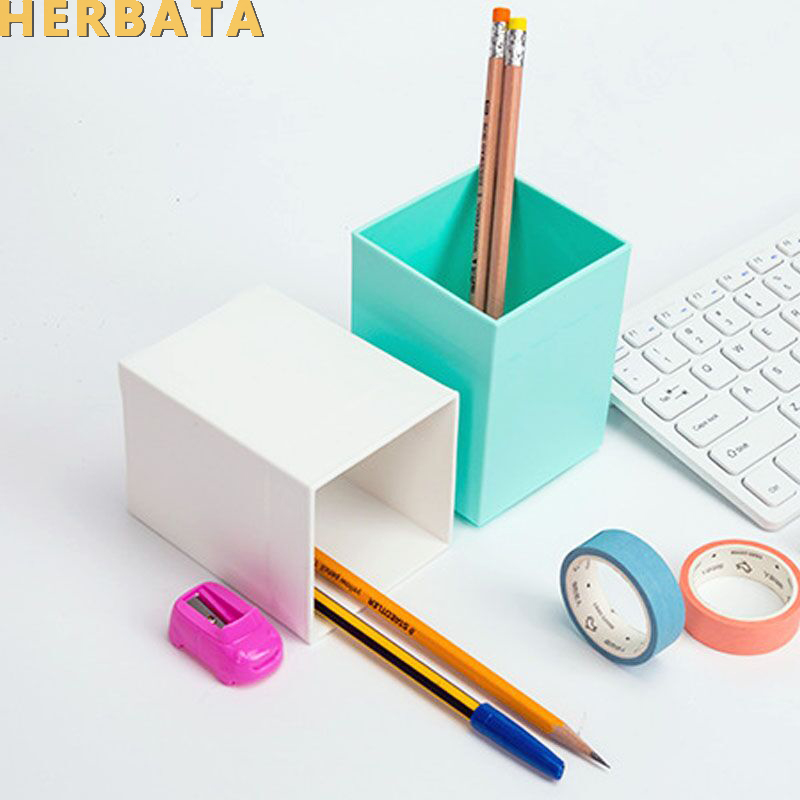 Multi-function  Desk Stationery Organizer Pen Pencil Holder Storage Box Case Container 5 Colors Available CL-2540