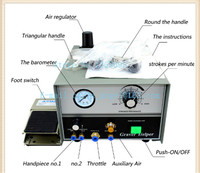 FREE SHIPPING PNEUMATIC ENGRAVING MACHINE DOUBLE ENDED GRAVER MAX GRAVER TOOL JEWELRY ENGRAVER WITH 2 HANDPIECES