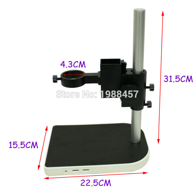 CCD Industrial Camera Holder Upper And Down Regulation Digital Industry Lab Microscope Lens Table Stand Fixed Holder ccd industrial camera holder up and down regulation digital industry lab 40mm monocular microscope lens table stand fixed holder