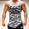 brothers gymshark summer Newest men's vest  and fitness treadmill 2016 Brand Clothing Bodybuilding Men's