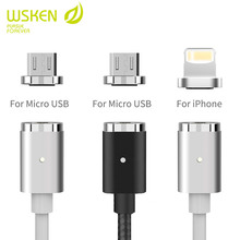 New wsken magnetic cable for iphone6 and micro usb,for android samsung universal cellphone original magnetic charger data cable