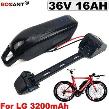 Литиевая батарея для электрического велосипеда 10S 36V 16AH для Bafang 850 W, батарея для электровелосипеда 36V + USB + переключатель + зарядное устройств...