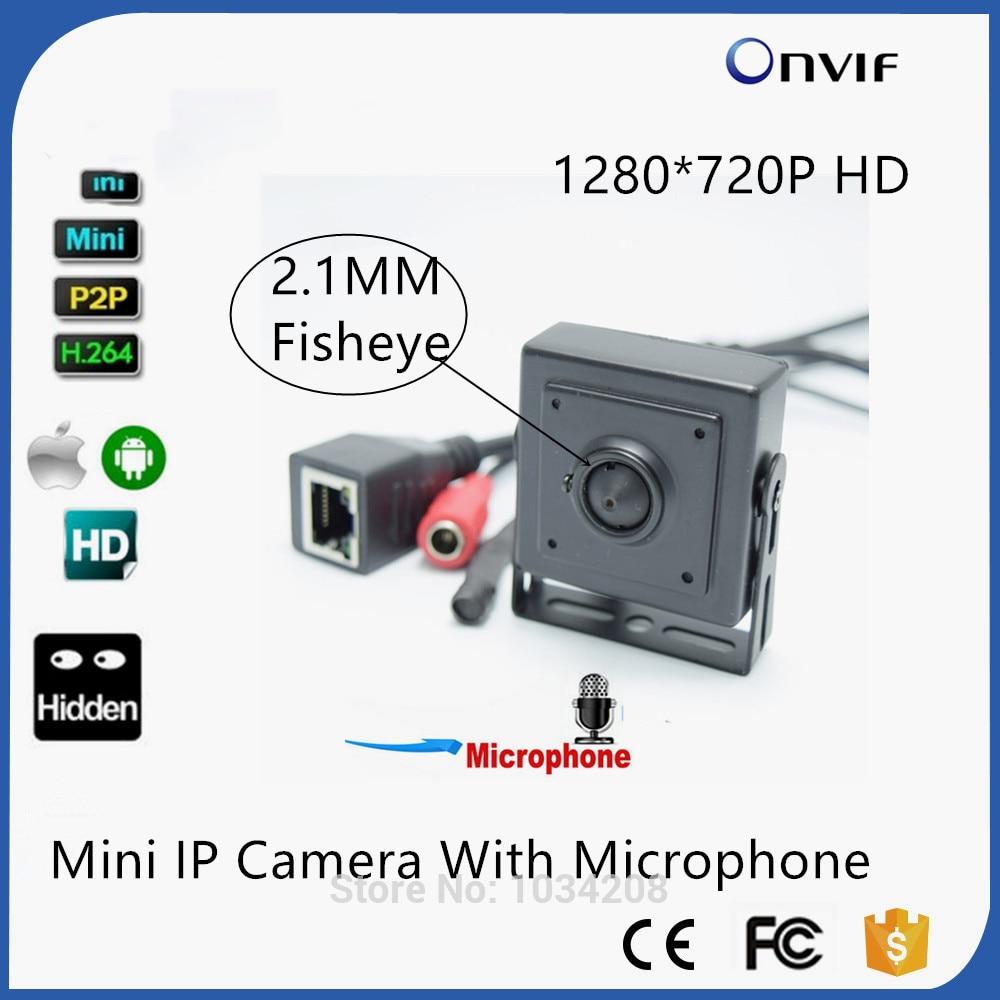 1.3 MP 960P HD megapixel hidden pinhole indoor surveillance cctv IP camera Onvif
