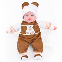 SHENGBOAO Mini Reborn Baby Dolls 35cm 13 8inch Soft Handmade Sleeping Boy Girl Dolls Toys For