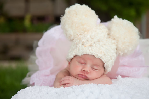 cce59bf7b8221 Cute cartoon Ears Beanies Pom Pom Crochet Kids Hats Girls Fashion Handsome  Big Boys Hats Casual Cap