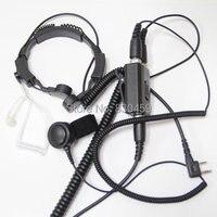 FBI Heavy Duty Military throat microphone Headset walkie talkies Baofeng Portable CB Radio UV 5R UV 5RE Plus UV 3R+ BF 888S GT 3