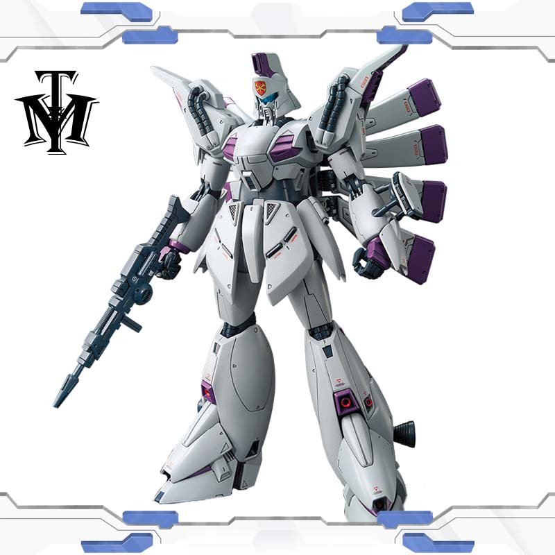 Japan Anime Bandai Mobile Suit RE 1/100 #09 Vigna Ghina Gundam XM-07 F91 Gunpla Action Figure Collection Model Robot child toys 1