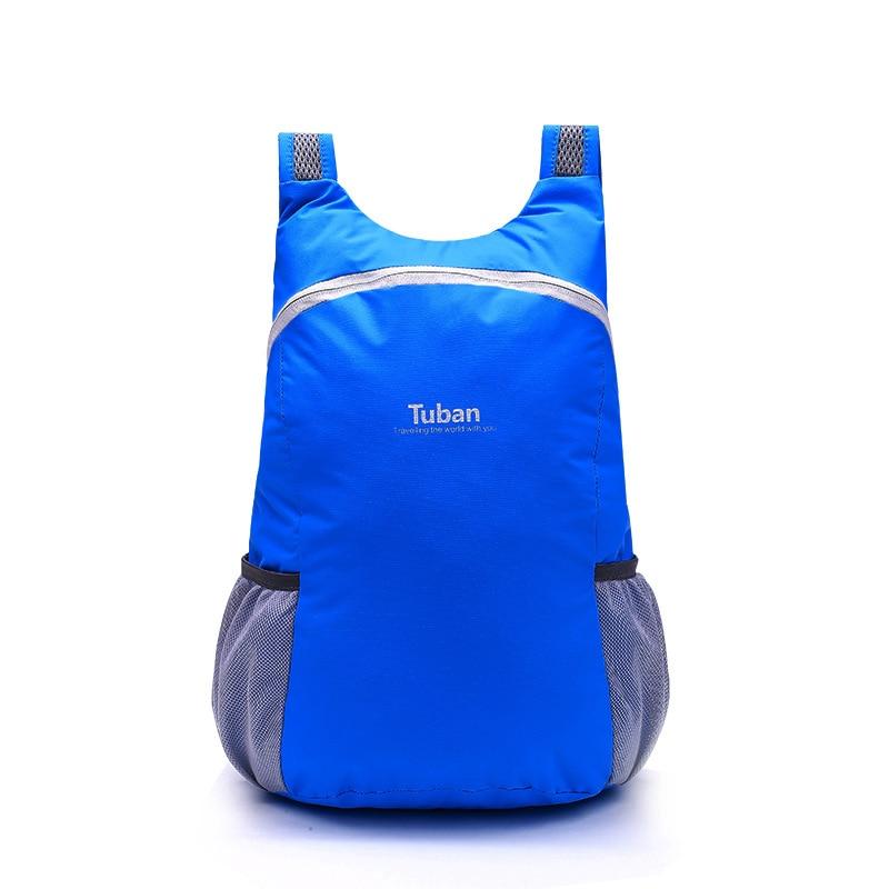 Hot Sale Lightweight Nylon Foldable Backpack Waterproof Men's Backpack Folding Bag Portable Men Women Backpacks For Travel