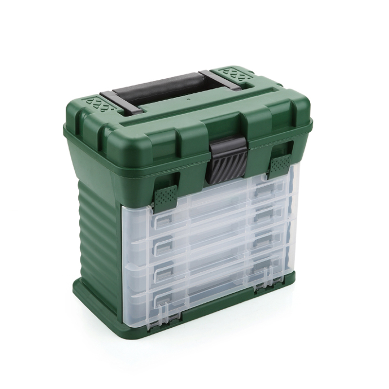 European and American professional fishing tackle / Fishing Box / precision parts storage / home-suitcase / Drawer Box spark storage bag portable carrying case storage box for spark drone accessories can put remote control battery and other parts