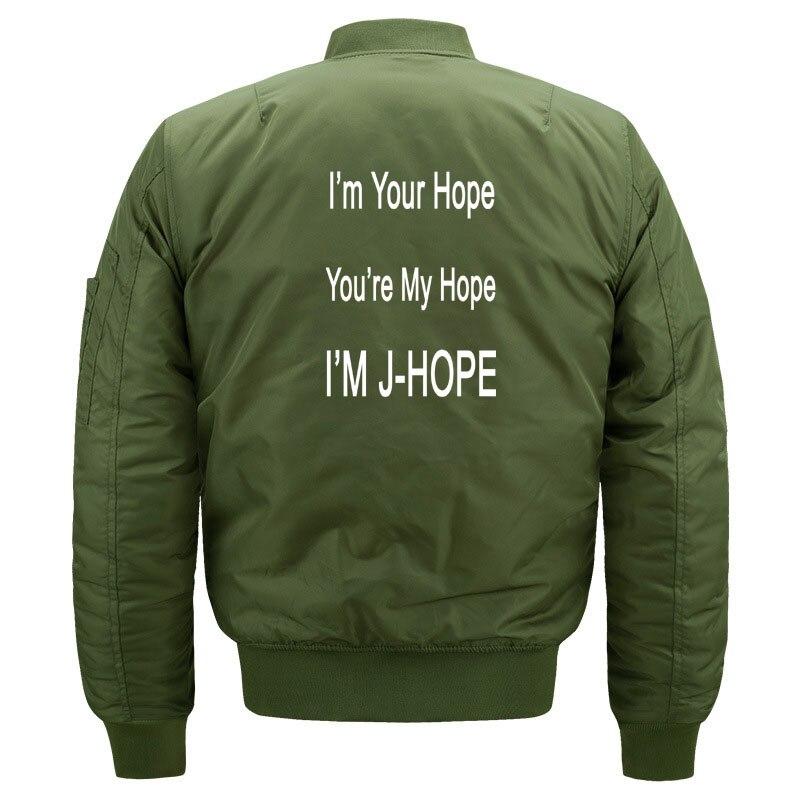 Kawaii Kpop BTS JHope Fans Bomber Jacket for Women and Men Cute Girls Korean Band Bangtan Boys J Hope Jackets Oversized S-5XL 2
