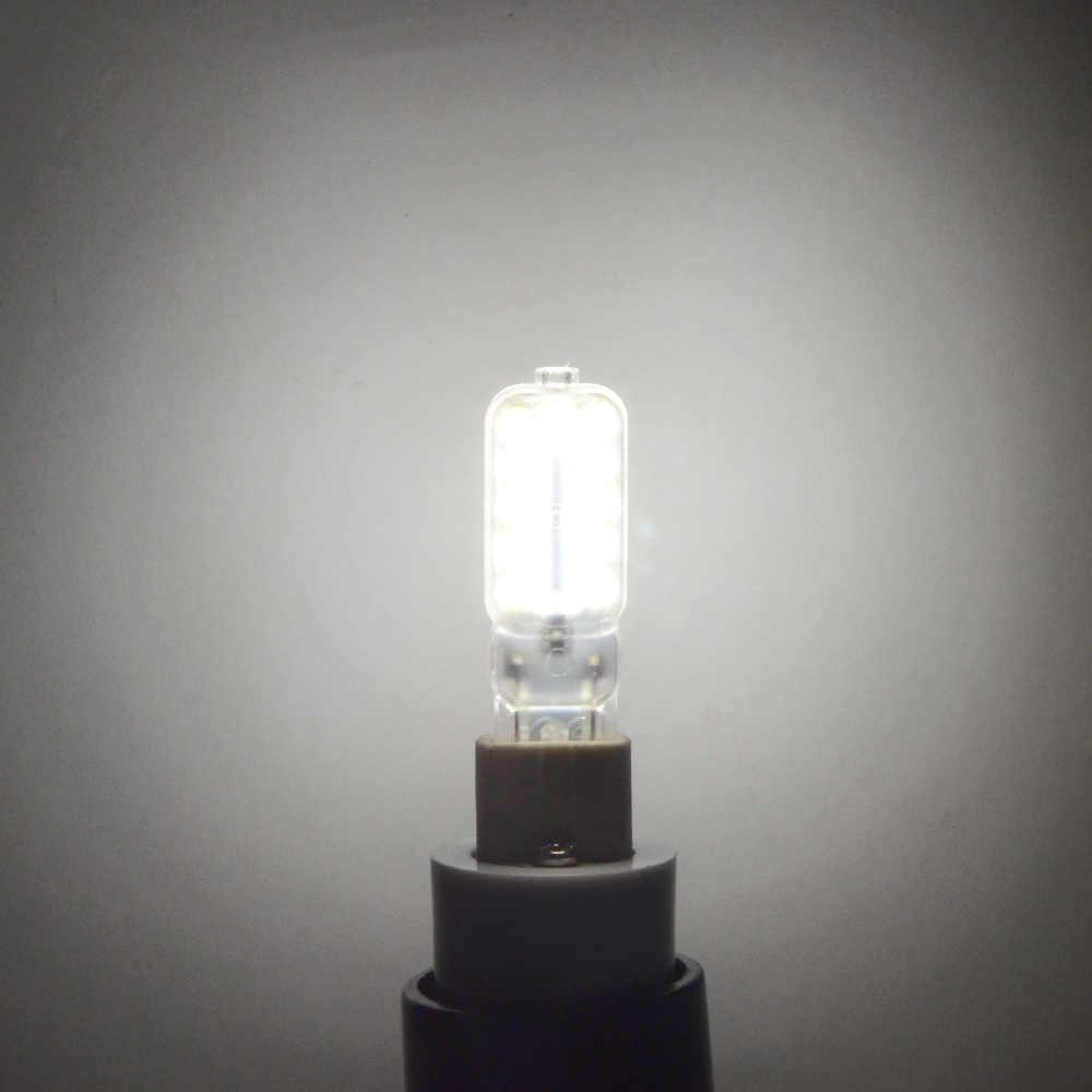 G9 LED Lamp Dimmable 120V / 220V 3W 5W Bulb 2835 SMD Light Corn Bulb SpotLight 360 Beam Angle Replace Halogen 30W 50W Lighting