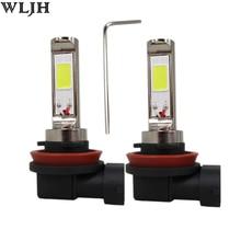 Wljh 2×12 В 24 В 30 В 30 Вт LED H4 H7 H8 9005 9006 вел чип авто Двигатели мотоцикла DRL вождения лампы противотуманные лампы