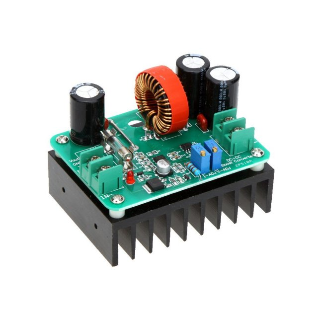 HFES 600W DC-DC boost converter step-up power amplifier module power supply