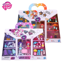 Original My Little Pony Fashion dolls best friends Rainbow Dash Sunset Action Figures Toys For Baby Birthday Gift Girl Bonecas