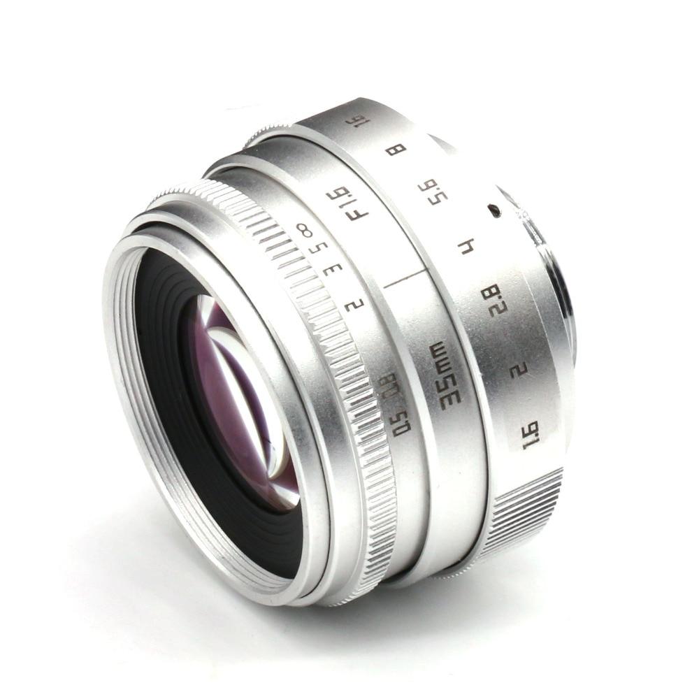hõbedane uus saabumine FUJIAN 35mm f1.6 C mount CCTV kaamera - Kaamera ja foto - Foto 4