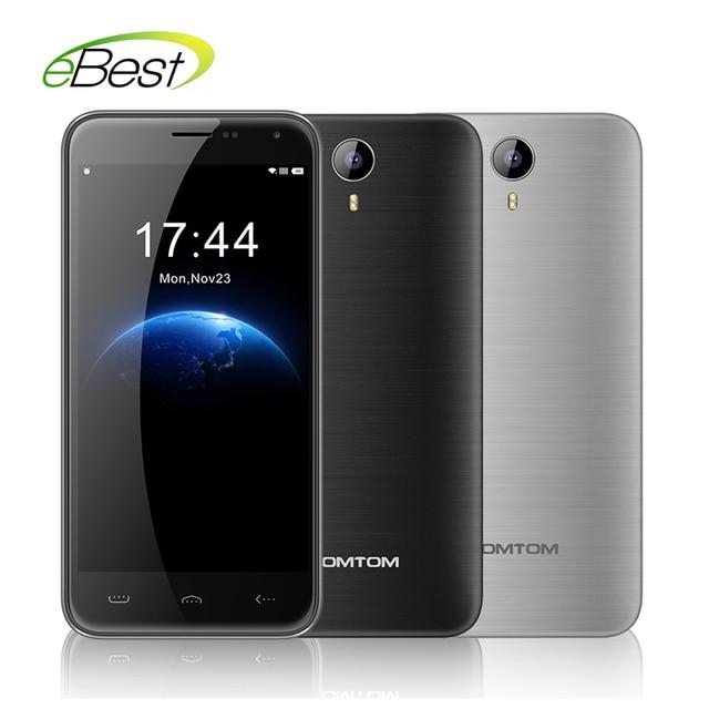 Original HOMTOM HT3 Mobile Phone 3G WCDMA 5.0 inch Android 5.1 MTK6580 Quad Core 1280x720 1GB RAM 8GB ROM 8MP Dual SIM