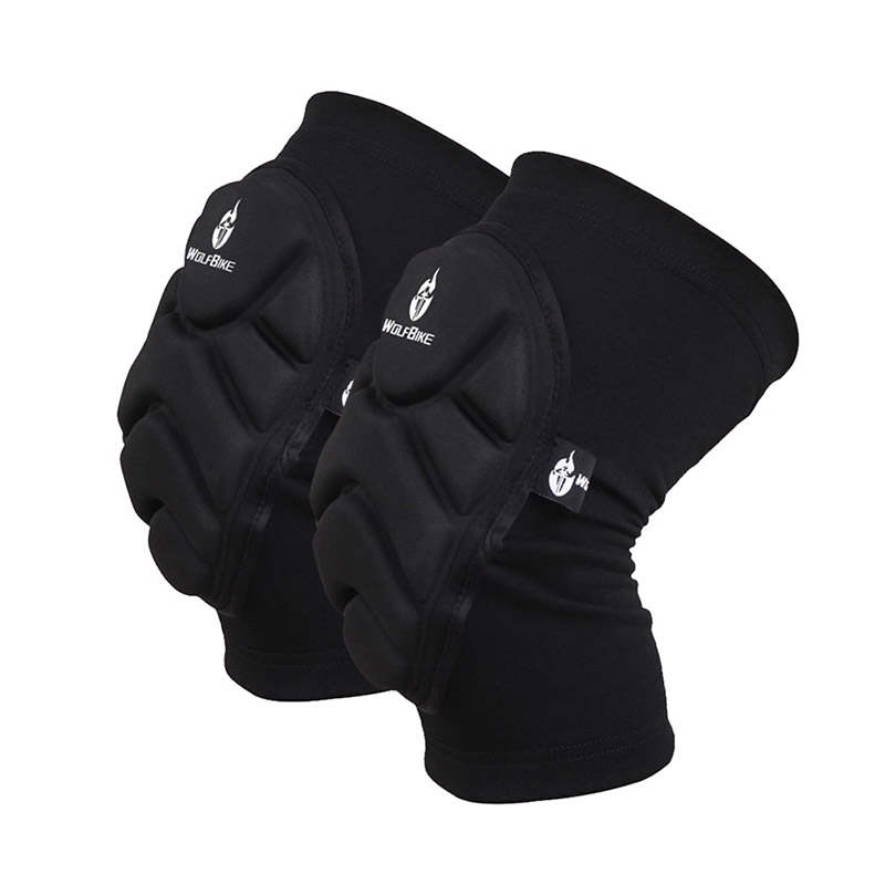 labor protection Skating Skiing Thickening Kneepad  Extreme Sports Knee Pad Eblow Brace Support Lap Protect safety gloves international labor migration