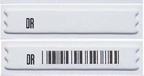 Free Shipping EAS Am 58khz Soft Label,EAS Adhesive Label 5000pcs
