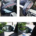 Rearview Mirror Rain Eyebrow Flaps Shield Shade Rainproof Blades Flexible PVC For Ssangyong Actyon Chairman Rexton Tivolan Xlv