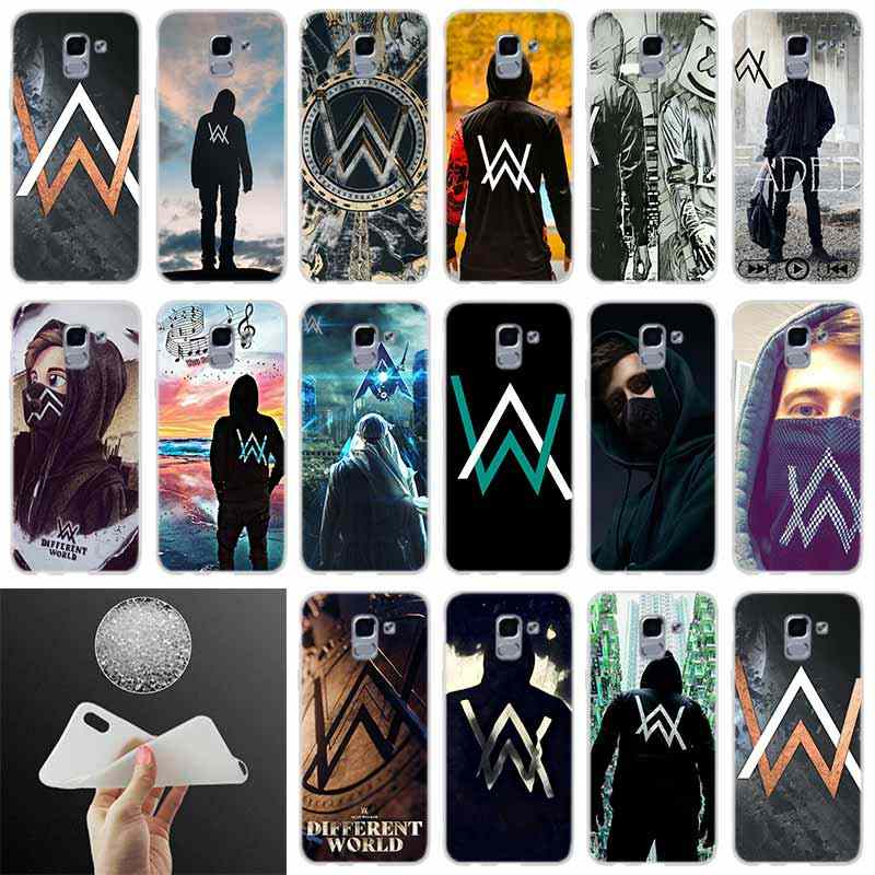 silicone Phone case Cover Alan Walker DJ Faded FOR Coque Samsung Galaxy J6 J4 J8 J7 2018 Plus J3 J5 J7 Prime Pro 2017 2016 Casse