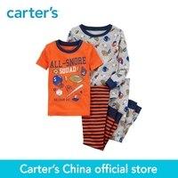 Carter S 4 Piece Baby Children Kids Clothing Boy Sports Snug Fit Cotton PJs 23235815