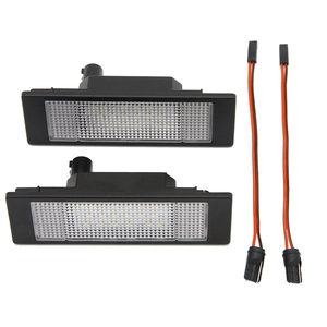 2 шт./лот Автомобильный светодиодный номерной знак без ошибок 24 светодиода лампа багажника для BMW E81 E87 E63 E64 E89 Z4 F20 F21 Автомобильный источник света