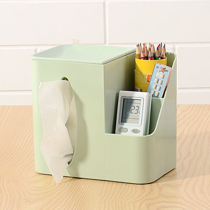 Creative Tissue Roll Paper Household Drawer Living Room European Style Napkin Tube Multifunctional Remote Control Storage box