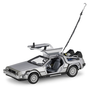Image 2 - 1:24 Welly DMC  12 delorean Back to The Future Diecast Model Car